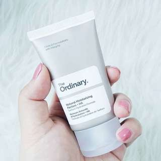 The Ordinary Natural Moisturizer Factors+ 30 ml