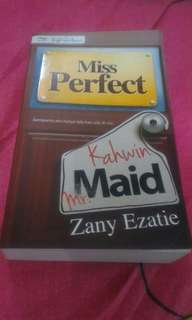 Miss Perfect Kahwin Mr Maid