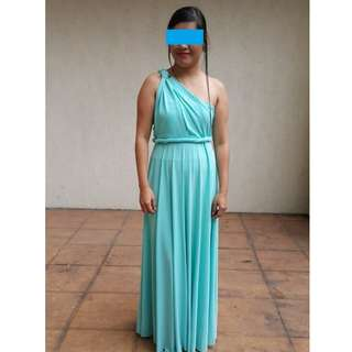 Blue Infinity dress - pre loved