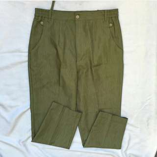 Army Green HW Trouser