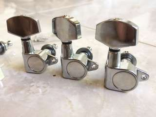 Dryer Gitar Tuning Machine Die Cast Chrome 3R 3L
