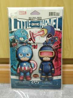 Marvel Avenger vs X-Men (AvX) #1 Giant Size Little Marvel Action Figure Variant by Skottie Young