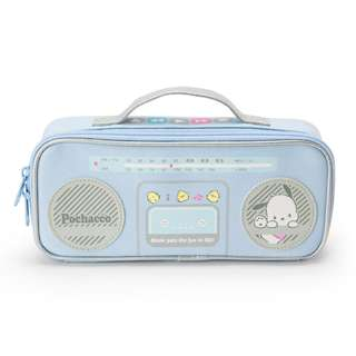 Japan Sanrio Pochacco Radio Cassette type Pen Case