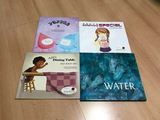 NEW 4 Singapore English Chinese Bilingual Storybooks for Children