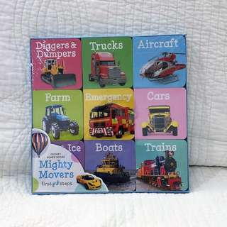 Toddler Board Book (3 themes available)