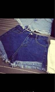 🚚 短褲(深藍)