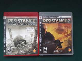 Resistance 1 and 2 bundle