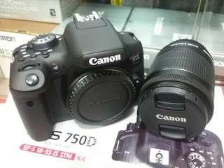 Kredit Kamera Canon eos 750D, Dp 10%