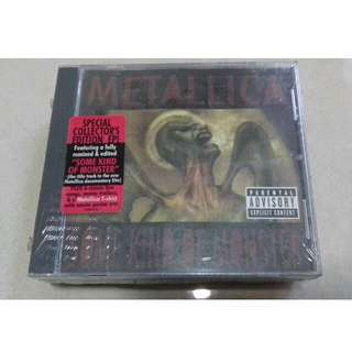 Metallica Some Kind of Monster USA pressing Sealed CD Limited Special Collector Edition with XL size T shirt sealed