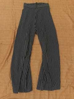 Stripe Cullotte