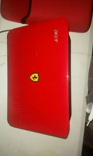 Acer Ferrari one Laptop limited edition