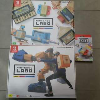Nintendo Labo Kit bundle