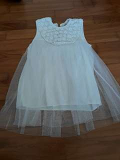 Brand New Baby Girl's Sleeveless Dress