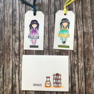 Card and tags mix