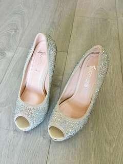結婚 婚紗 影婚紗相 高跟鞋 超高