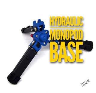 Professional Hydraulic Mono Pod Base for Manfrotto Sirui Sony Nikon Canon Monopod