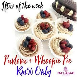 Whoopie pie & Pavlova