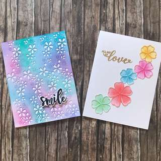 Cards - love and smile