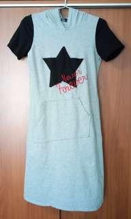 🚚 QYOP Long Gray Shirt / Dress