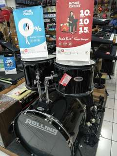 Rolling Drum Set JB 1026 BK