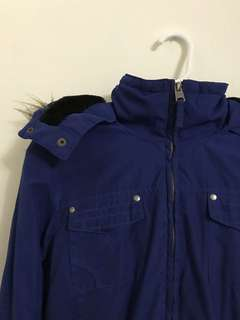 Blue Garage Jacket