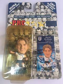 David Beckham Corinthian England Platinum Blister Pack