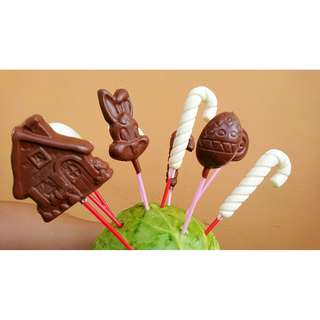 A box of chocolate, lollipops, & yummy treat bag.  .  . 🍫🍭🍫🍭