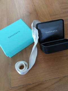 Tiffany jewelry box