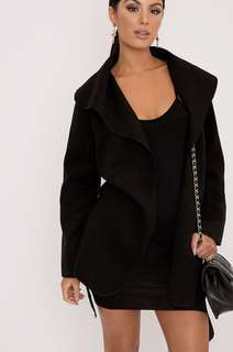 Waterfall Black Coat
