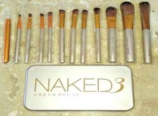 🚚 12pcs naked3 brush set