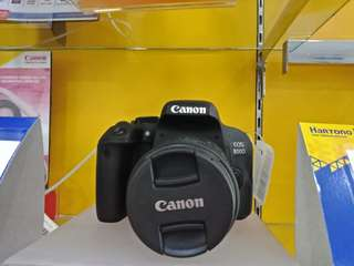 Camera canon EOS 800DL DTS kredit bunga 0%