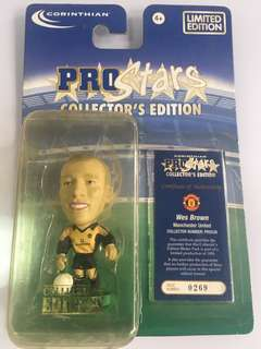 Wes Brown Corinthian Limited Edition Blister Pack Man Utd