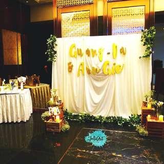 Wedding Photo Table & Photobooth