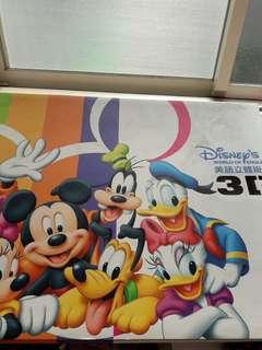 迪士尼3D立體掛圖