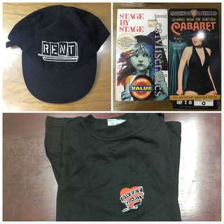 Used VHS tapes, Rent Cap, Sweet Charity shirt