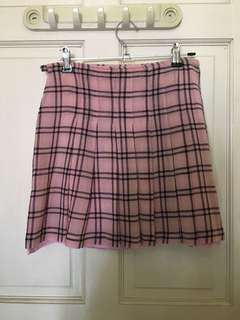 Max & Co. Plaid Tennis Skirt
