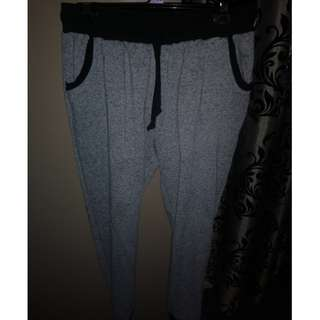 Grey pyjama sweat pants