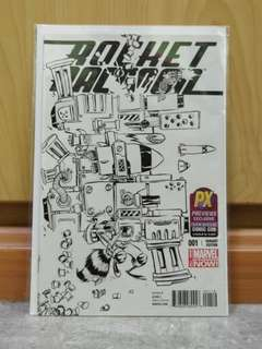 Marvel Rocket Racoon #1 PX San Diego Comic Con (SDCC) Exclusive