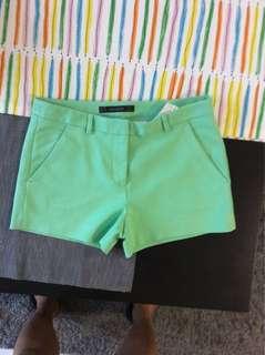 Zara Green Shorts