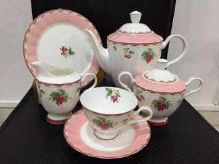 Vintage English Tea Set China Bone