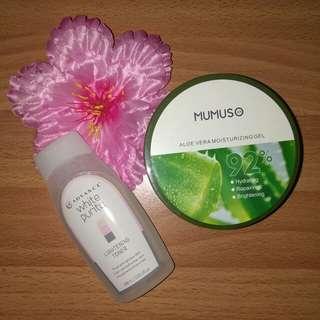 Skin Care Bundle ♥️ + FREE MUMUSO FIBER COTTONPADS!!
