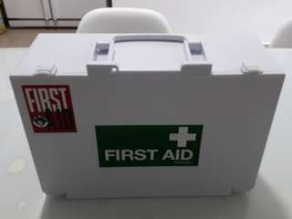 First Aid Box with Supplies