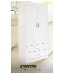2 DOOR WARDROBE - 3002