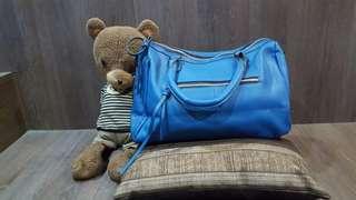 From US Brandnew Blue Handbag with Tassel
