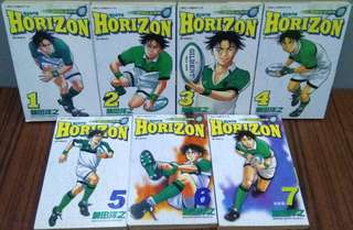 衝出地平線HORIZON,全套7期完,菊田洋之作品,玉皇朝出版