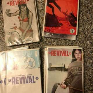 Image comics revival 1 to 47 ( missing 37) plus a cgc ss variant