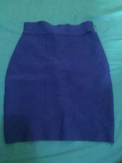 Herve leger mini skirt