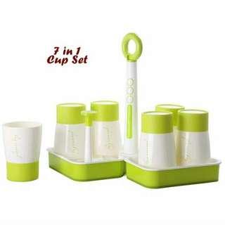 Set 6 in 1 Holder Tempat Gelas Free BPA