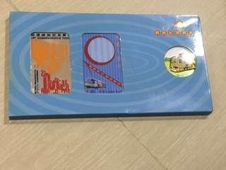 絕版 輕鐵紀念車票禮盒