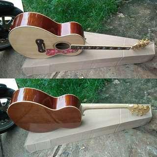 Gitar gibson j200 akustik pabrikan